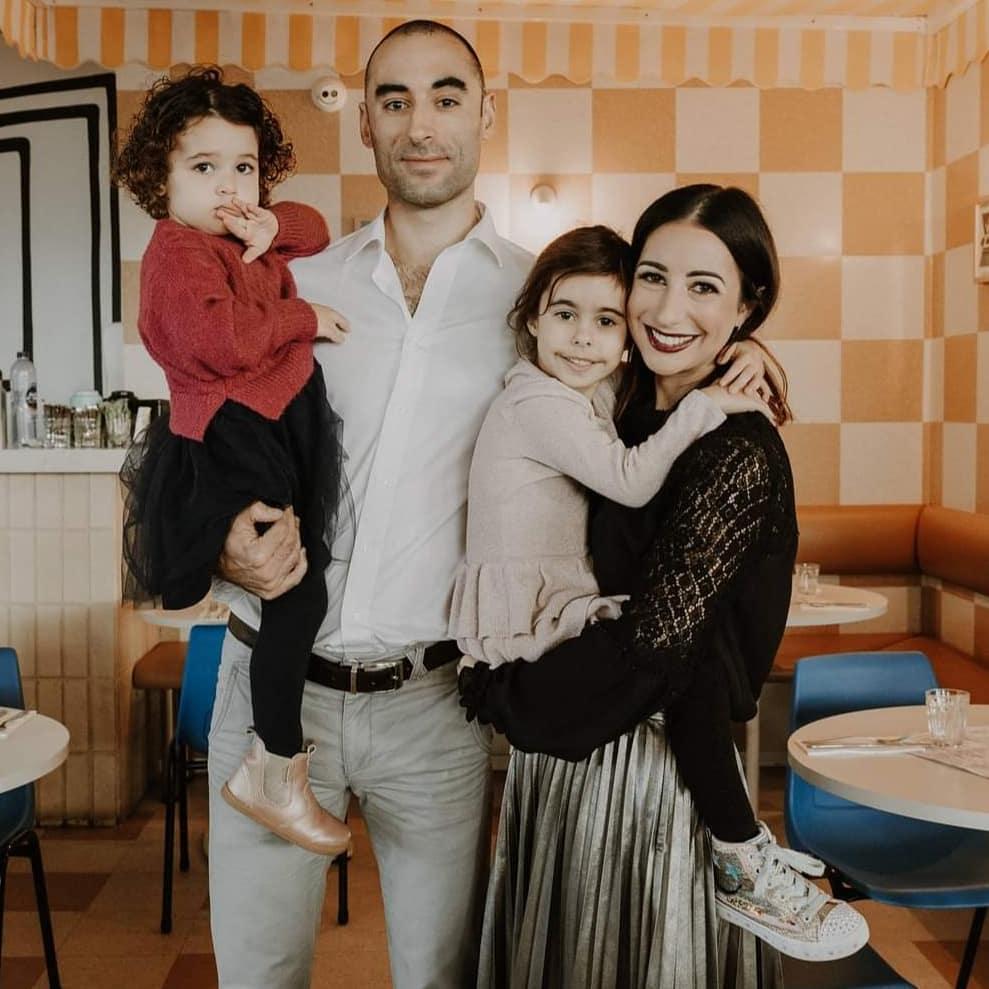 Ocenasek Family. Eva 5 years old in my arms